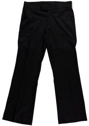 Yves Saint Laurent Wool Straight-Leg Pants