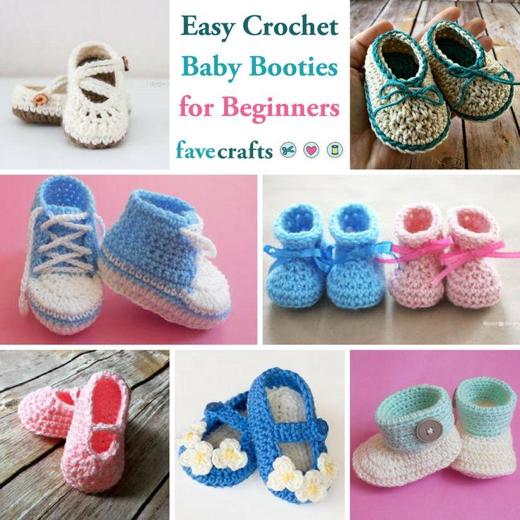 15 Easy Crochet Baby Booties For Beginners Crochet