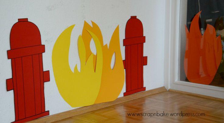 Feuerwehr - Party - Firetruck - Dekoration - Decoration