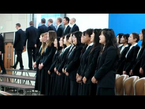 FTTA Fall 2011 Graduation Meeting - (1), the new song they composed