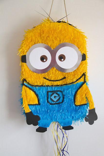 Piñatas que Ilusionan: Piñata Minions