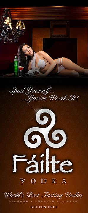 FÁILTE VODKA - The World's Best Tasting Vodka. #best #tasting #vodka #in #the #world  #smoothest #vodka for Martinis. FÁILTE VODKA is an #ultra #luxury #potato #vodka that is DIAMOND & EMERALD Filtered making it not only the #best #vodka but also the #smoothest #vodka. #gluten #free #vodka. #FÁILTE #VODKA is an #award #winning #Luxury #vodka. FÁILTE VODKA won the gold medal at The New York World Wine & Spirits Competition. http://answers.yahoo.com/question/index?qid=20140121195107AALgs2V