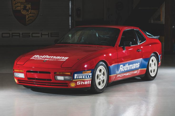 1988 Porsche Rothmans 944 Turbo Cup Race Car