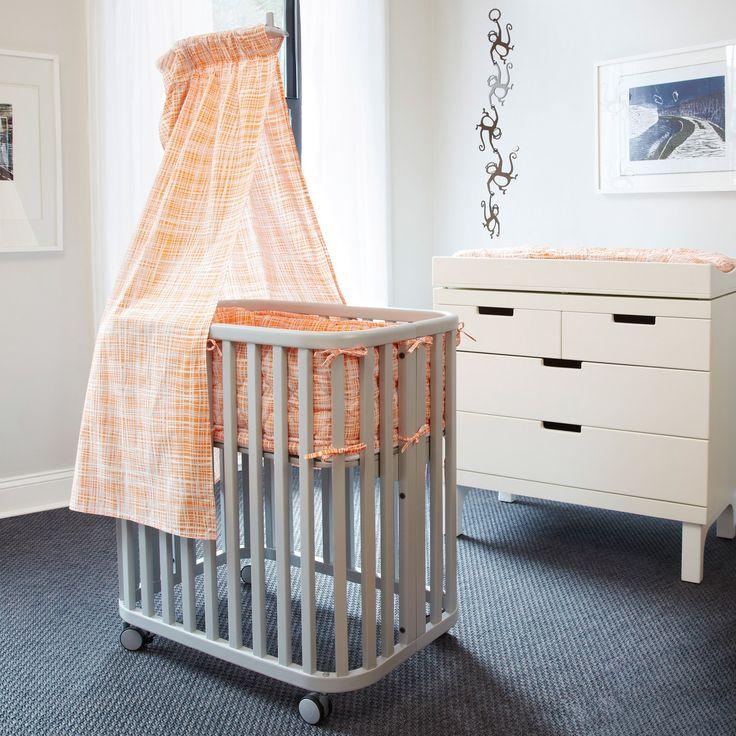 oh baby argington bambam grey bassinet laylagrayce