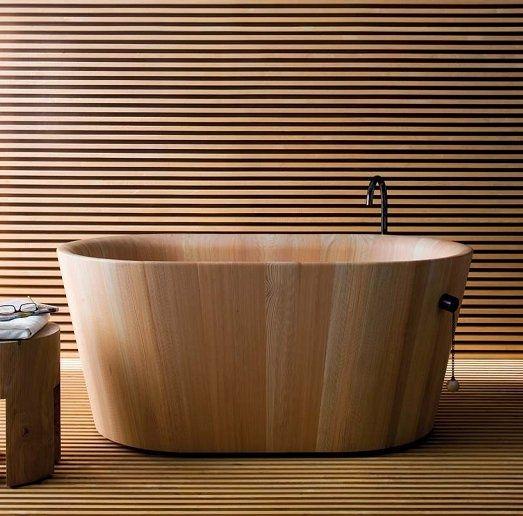 Ofuro Wood Bathtub by Matteo Thun and Antonio Rodriguez