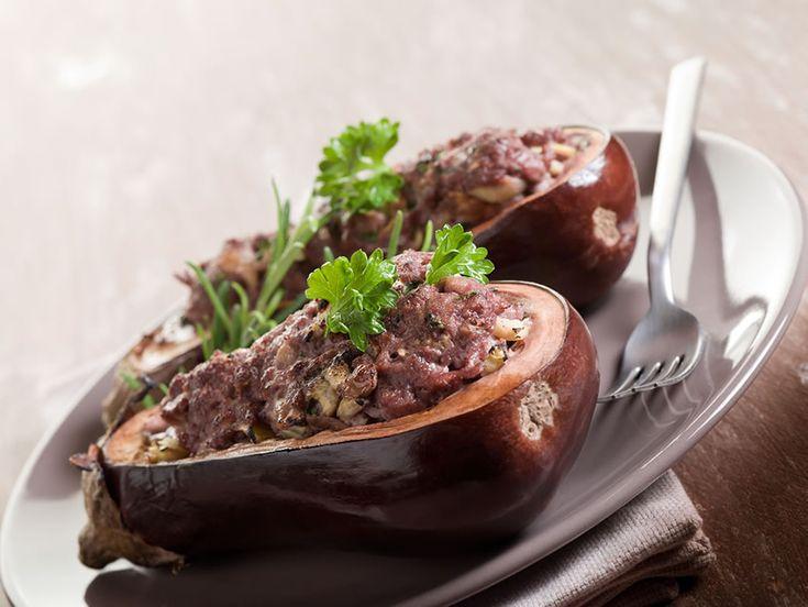 Eggplant Stuffed with Beef Recipe - Everyday Diabetes