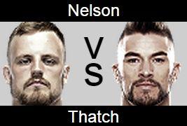 UFC 189 Gunnar Nelson vs Brandon Thatch Prediction