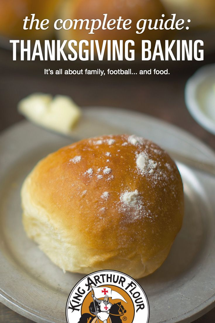 Planning ahead for Thanksgiving? Our guide to Thanksgiving baking offers the recipes, tips, techniques, and inspiration you need for a truly memorable holiday.