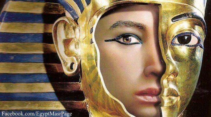King Tutankhamon (Tuta... Funerary Mask Of Tutankhamun