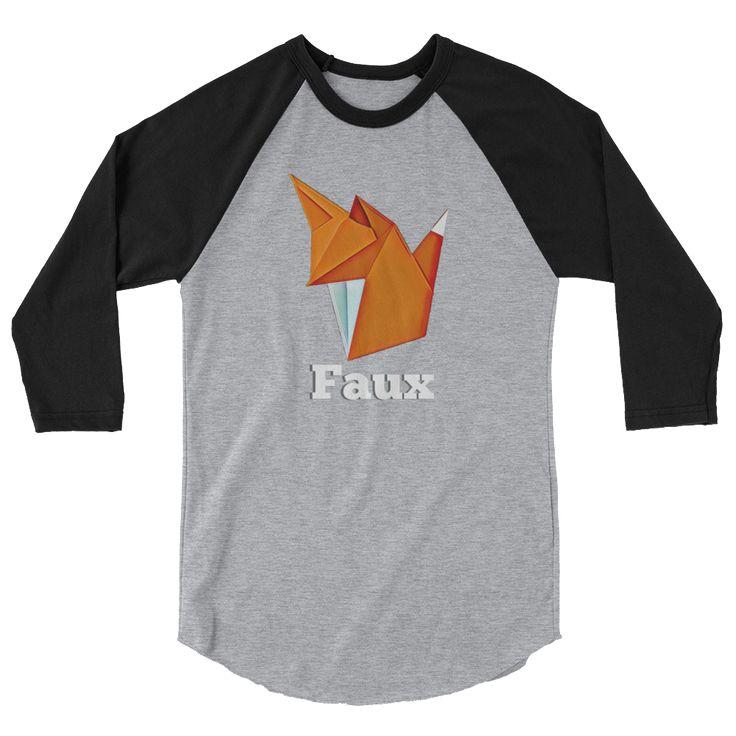 Les Faux Fox Raglan Shirt