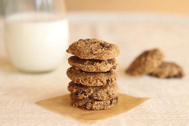 Vegan Gluten Free Oatmeal Raisin Cookies | Sweet Treats- Dessert Bar ...