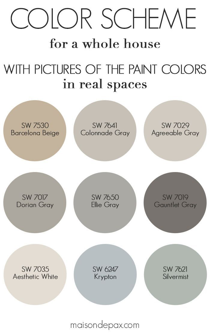 Best Neutral Gray And Greige Paint Colors In This Blog Post I M Sharing Which Used My Home For Bright Decor Style