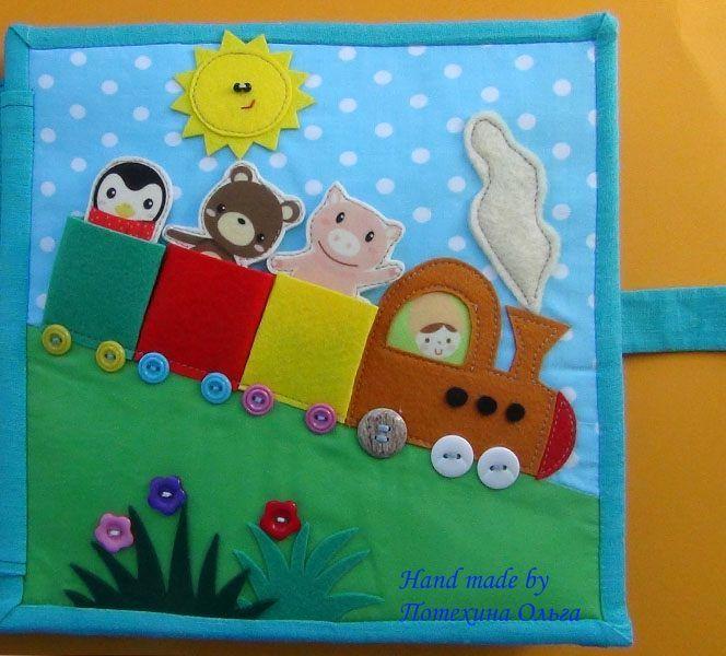 "Developmental book for boys ""Transport"""