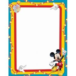 Mickey Mouse® Computer Paper. Print a class newsletter or an award on this fun Mickey Mouse themed paper! 50 sheets per package. $5.49 #MickeyMouse #teachers