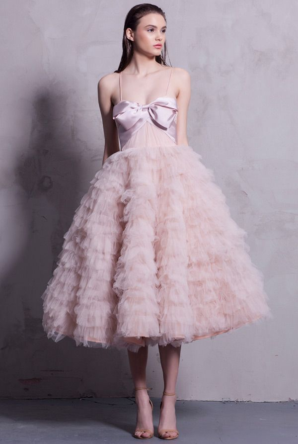 Stunning The Pink Wedding Dress of the Very Best Colored Wedding DressesShort