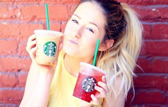 nouvelle vidéo! DIY de boissons STARBUCKS  le lien est dans ma bio!