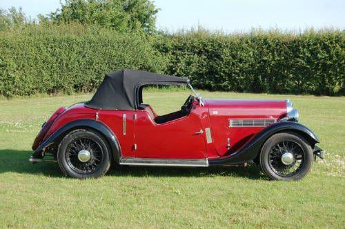Rover 12 Tourer (Extraordinary Unusual Motor Car) For Sale (1936)
