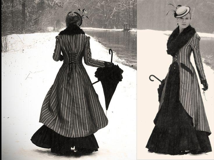 STEAMPUNK Kleid & viktorianisches Kostüm von NikaWe - Haarstäbe auf DaWanda.com