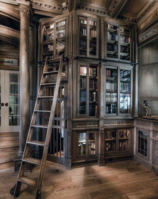 90 Home Library Ideen für Männer – Private Reading Room Designs