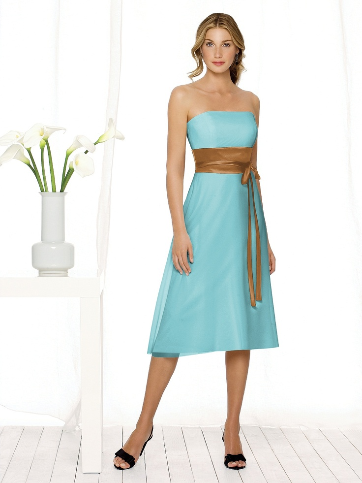 Bridesmaid Dress Option for Turquoise and Copper