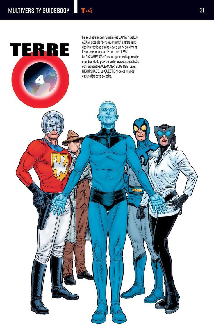 Exceptionnel 35 best multivers dc comics images on Pinterest | Justice league  FY88