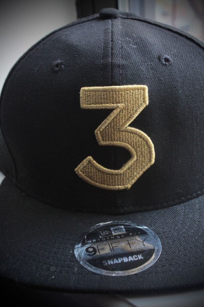 5d604a6fa97 Chance the Rapper 3 New Era Cap Embroidered Snapback Hat (Rare Black and  Gold)  fashion  clothing  shoes  accessories  mensaccessories  hats (ebay  link)