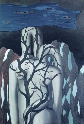 René Magritte - Paisaje, 1926