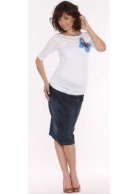 9fashion Tory Denim Skirt Denim (L) 9Fashion. $85.00