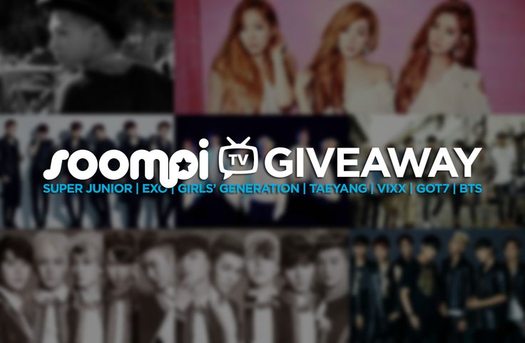 Exclusive: SoompiTV 7-Day Giveaway – Win Albums From EXO, SuJu, GG, VIXX, BTS