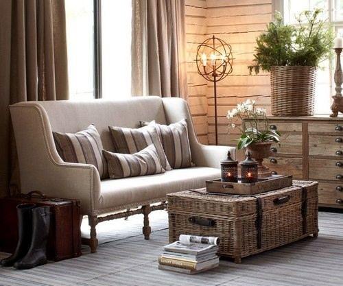 Сундуки в интерьере - винтажный декор :: Фото красивых интерьеров