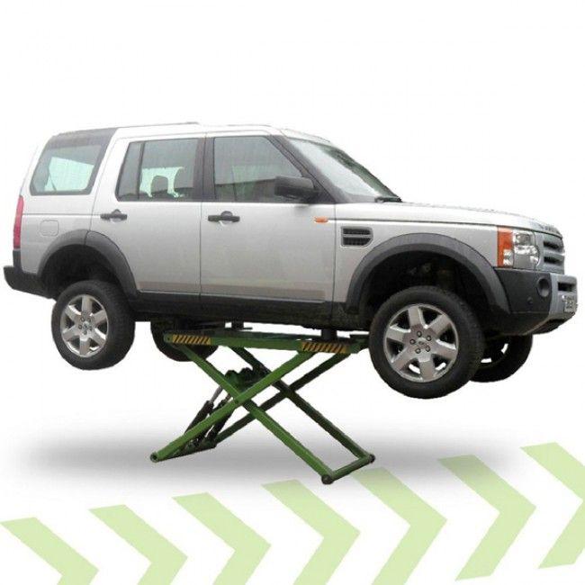 Strongman Tamar 2.8 Ton Mid Rise Mobile Scissor Car Lift Ramp 240V