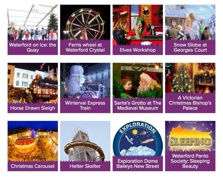 It's the last 6 days of Winterval 2014 from tomorrow ... Have you booked your favourite events yet? #Waterford