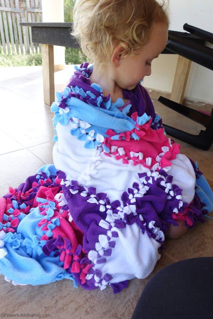 fleece blanket knot                                                                                                                                                                                 More