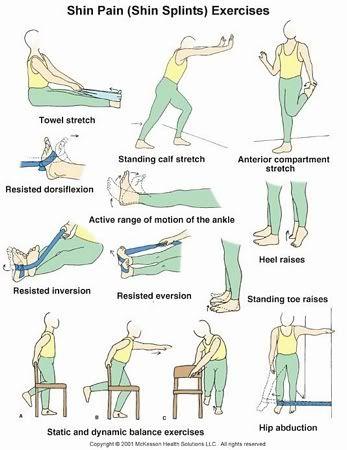 1000+ ideas about Shin Splint Exercises on Pinterest ...