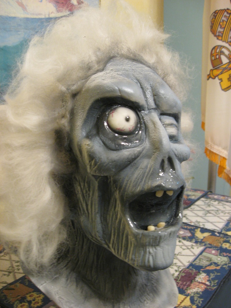 Haunted Mansion Quot Pop Quot Up Ghost Latex Head Prop Halloween