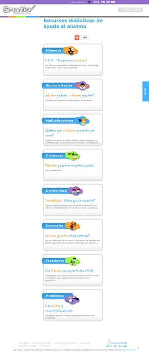 http://www.smartick.es/matematicas/recursos-didacticos.html#.UrlwxbSO6RM
