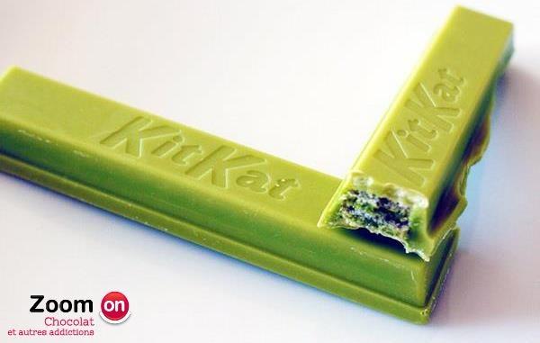 Green Tea  KIT KAT  THÉ VERT ! Toujours ZEN ces Japonais ;)