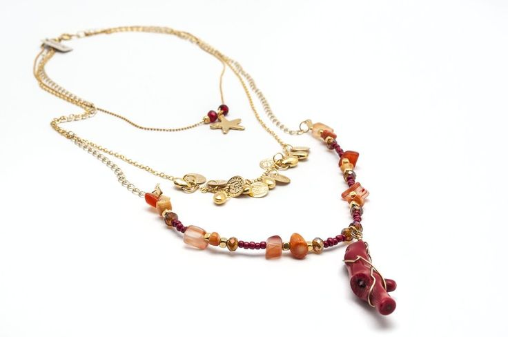 Necklace-Coral-Amarone