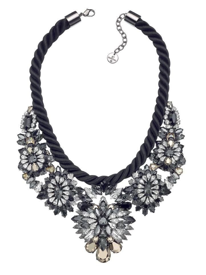 Swarovski bib necklace