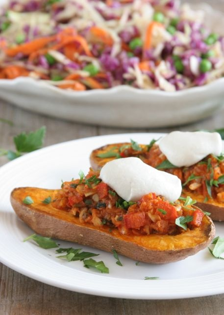 Southwestern Sweet Potato Skins | Food! Sides, Salads, Tips, and Drin ...