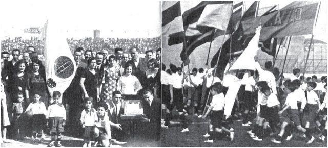 Festejos de las Bodas de Plata de Huracán (1º de noviembre de 1933)