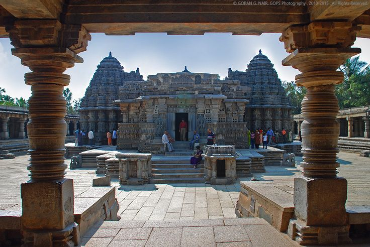 https://flic.kr/p/6QKf4t | Great Indian Architecture series :: Somnathpura | Chennakeshava Temple, Somnathpur, Karnataka, India. Built by the Hoysala dynasty, 740 years back. Exquisite rock carvings . Read my complete blog at : www.gops.org/?p=790