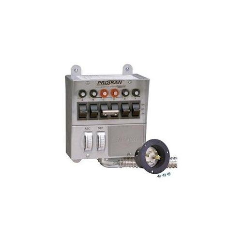 Pro / Tran Transfer Switch for 5000 Watt Generator