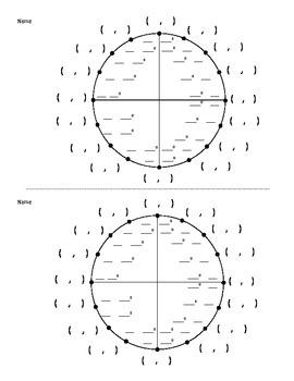 17 Best ideas about Blank Unit Circle on Pinterest | Unit circle ...