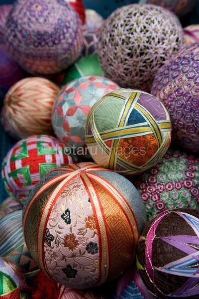 Temari (Japanese thread balls)