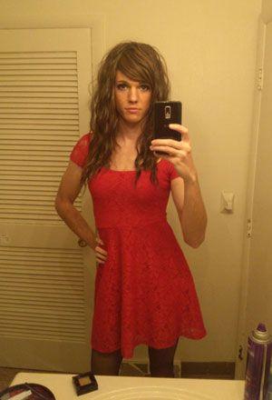 Transexuelle ébène adolescent