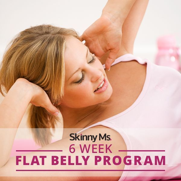Our 6 Weeks Flat Abs Program will transform your belly with just six weeks of workouts (and recipe solutions) that will challenge and motivate you. #flatbelly #rippedabs #workouts #cleaneating #fitnessprogram