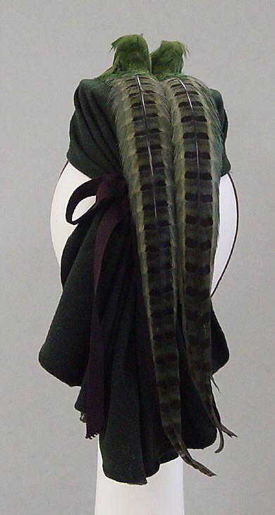 Hattie Carnegie, Inc. (American) Date: 1940 Culture: American Medium: wool…
