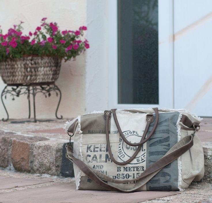 Sunsa Damen Herren Vintage Tasche Schultertasche Umhängetasche Handtasche Canvastashe Canvas Leder Ledertasche Segeltuch Damentasche Herrentasche Badetasche große Tasche