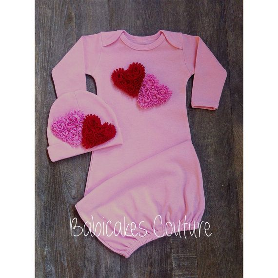 Newborn Girl Valentine Outfit Newborn Girl Take Home Outfit